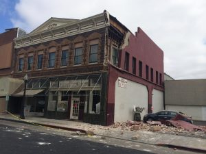 Unreinforced Masonry Building Damage