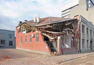 Unreinforced Masonry Building Damage