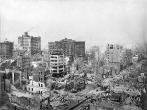 Aftermath of the 1906 San Francisco Earthquake and Fire