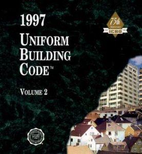 1997 Uniform Building Code