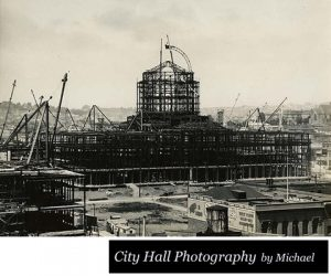 San Francisco City Hall under Construction