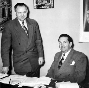 Degenkolb Founders: Henry Degenkolb (left) and John Gould (right)