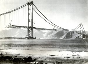 Golden Gate under Construction
