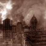 1906 San Francisco Fire after the Earthquake