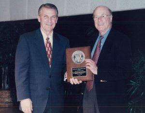 Dan Shapiro receving Public Service Award