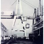 Modern Container Crane