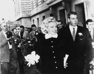 Marriage of Marilyn Monroe and Joe DiMaggio