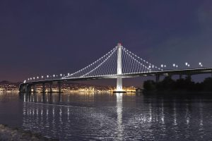 New Eastern Span at Night
