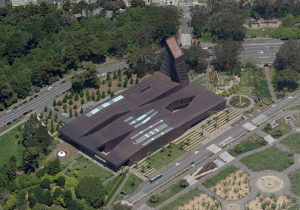 De Young Museum - Aerial View