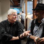 Steve Mahin with Ashraf Habibullah