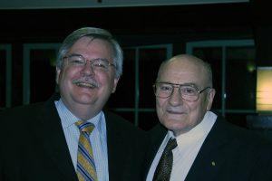 Steve Mahin with Vitelmo Bertero