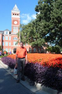 Steve Tipping at Clemson University