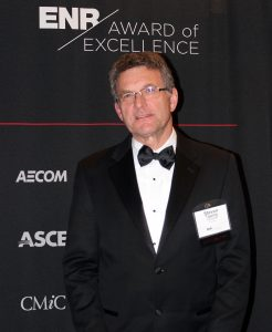 Steve Tipping at Engineering News Record Awards Ceremony