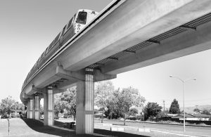 Bart Elevated Track