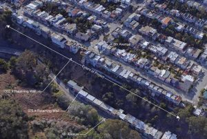 7th/8th Avenue Slope Stabilization Project Extents