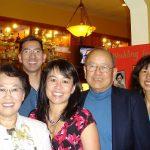 John Hom with Family