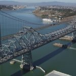 Carquinez Bridge Aerial View
