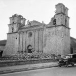 Damage to Mission Santa Barbara