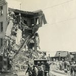 Building Collapse after Santa Barbara Earthquake
