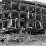 Damage at the Californian Hotel